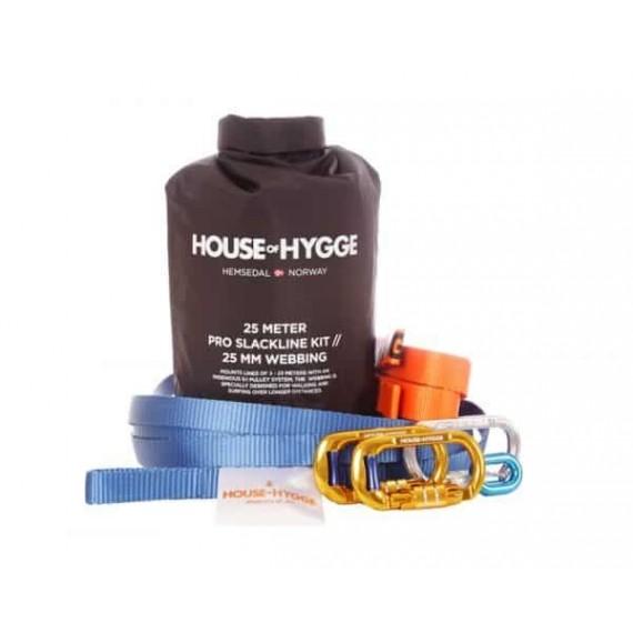House of Hygge 25 meter Pro Slakkline® Sett